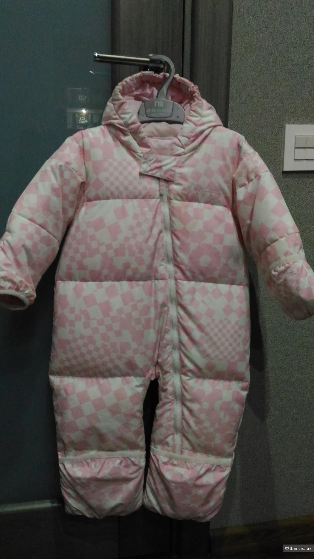 Зимний комбинезон для девочки Columbia, на 6-18 месяцев