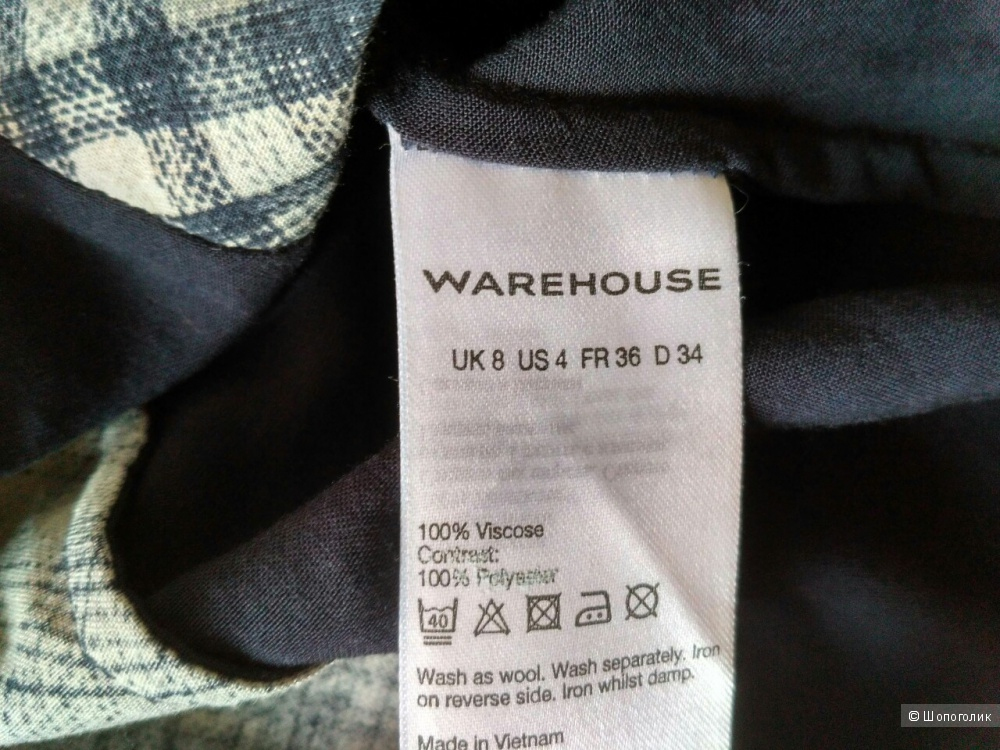 Блузка-топ Warehouse, UK8
