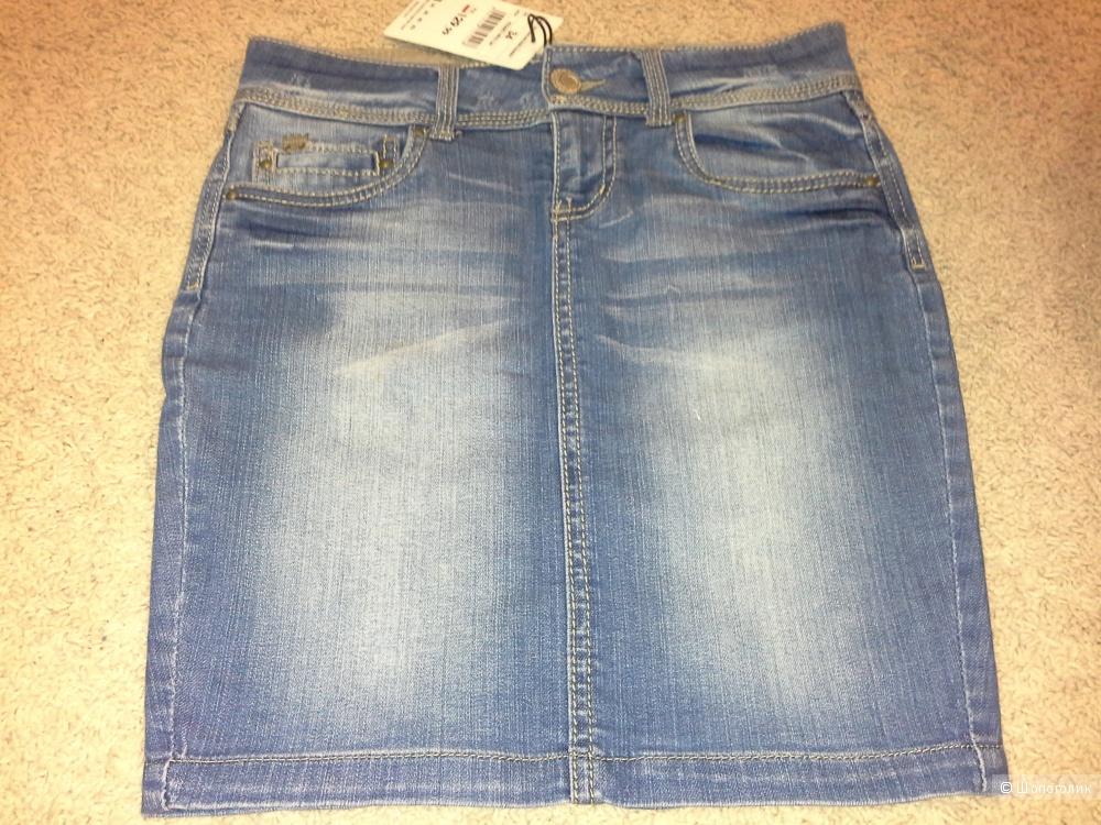 Джинсовая юбка , размер 34
