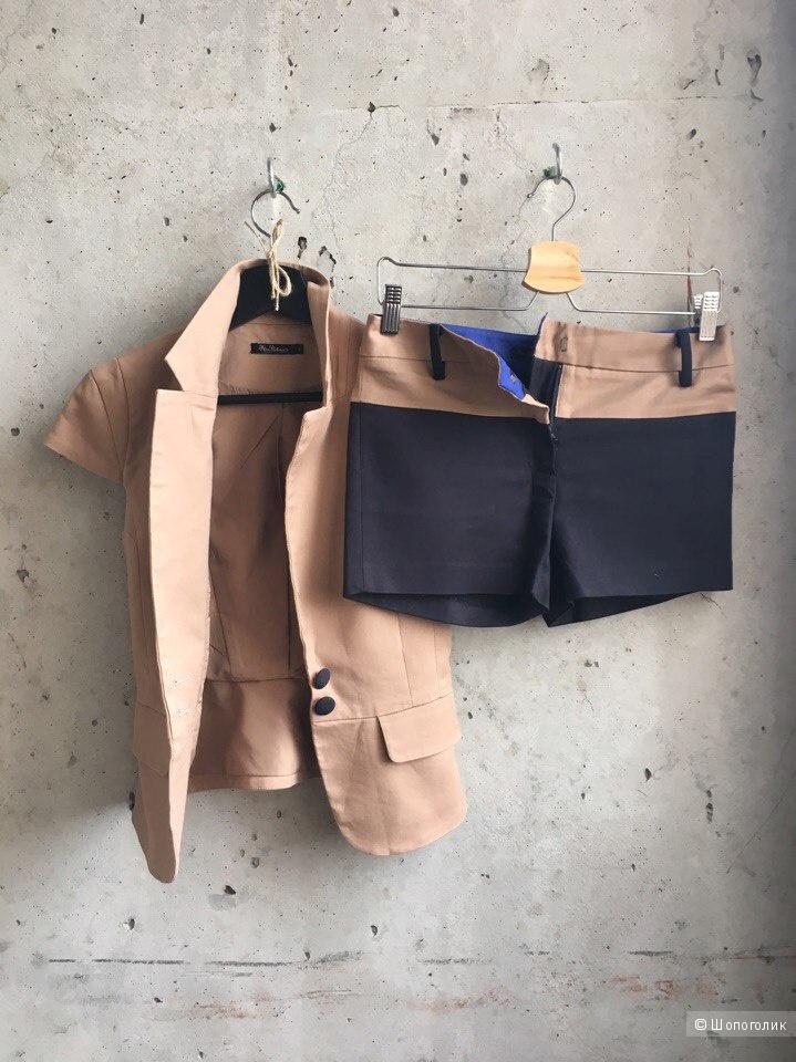 Костюм Kira Plastinina. Пиджак и шорты. Размер S.