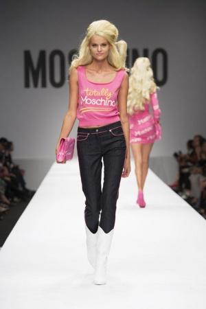 Новые джинсы Moschino Couture Barbie Collection 38