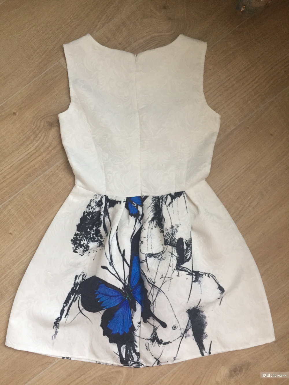 Новое жаккардовое платье Размер S.