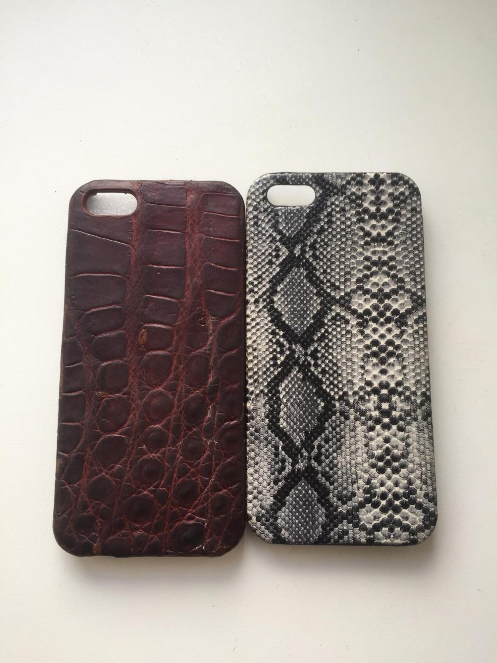Чехол для IPhone 5/5s из крокодиловой кожи
