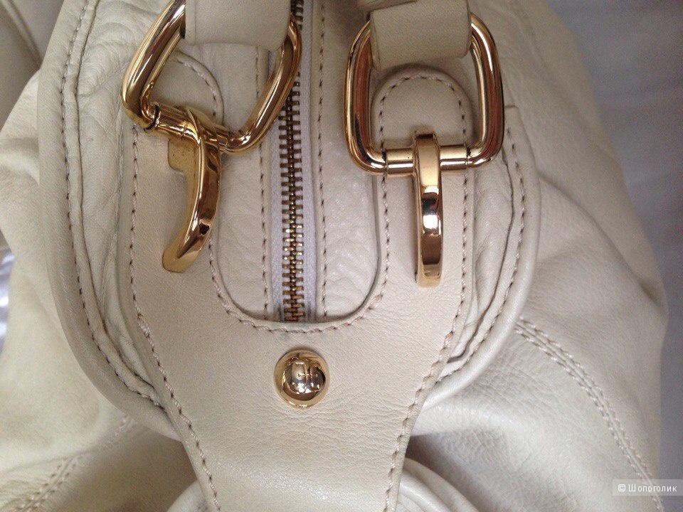 Бежевая летняя сумка Fabi, оригинал