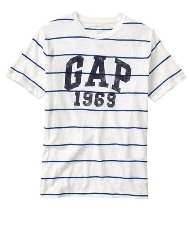 Футболка мужская GAP L