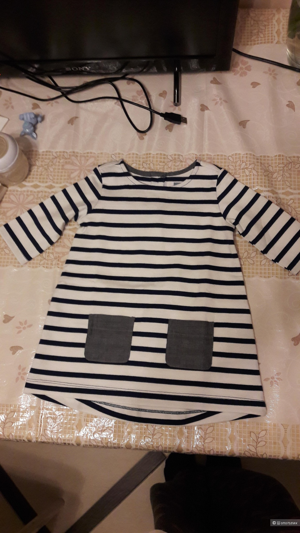 Платье для девочки GAP новое без бирок, р-р 80 (12-18 мес.)