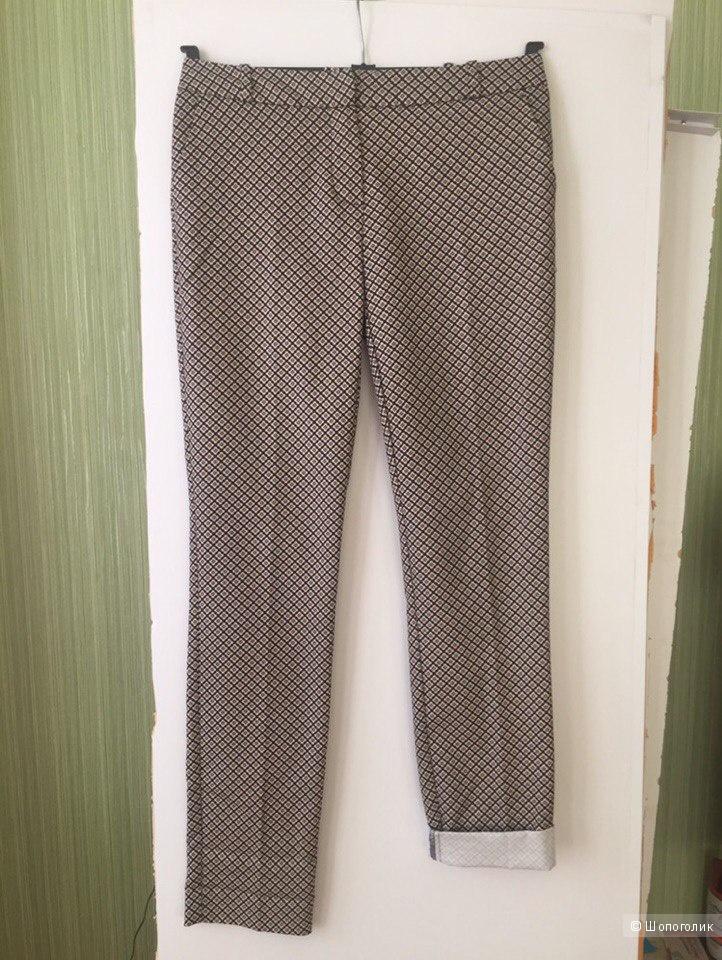 Новые штаны с принтом французской марки Promod