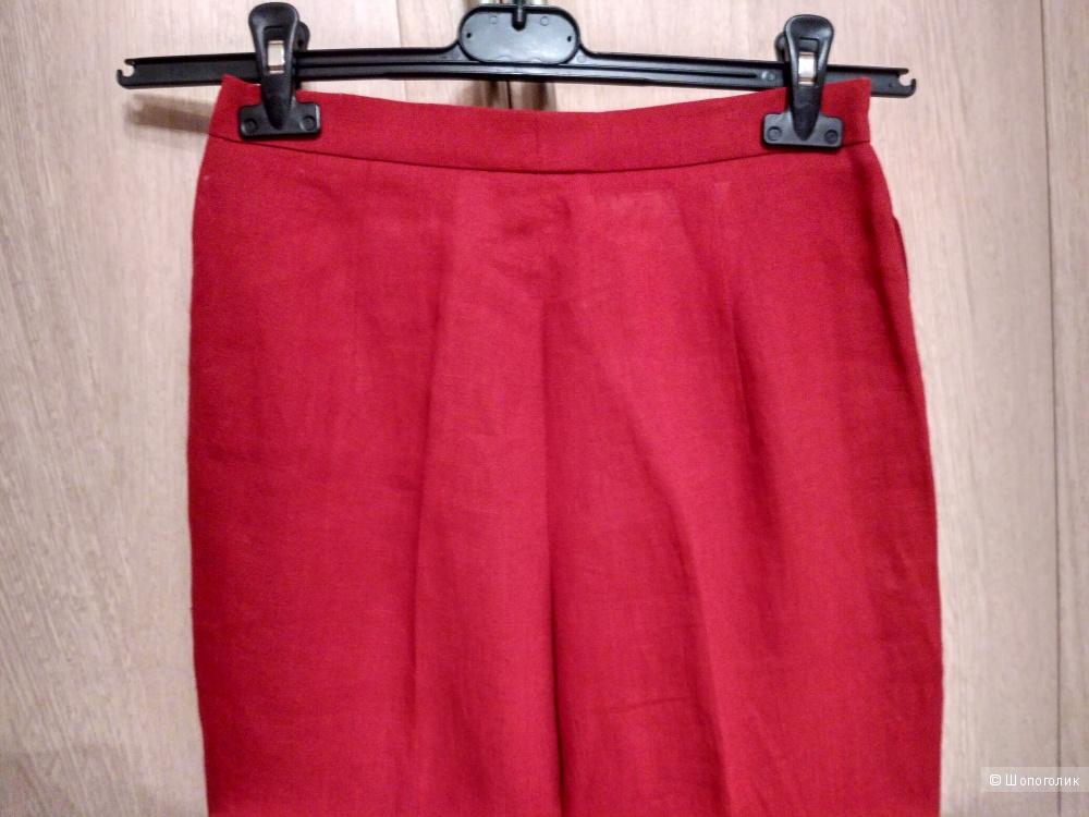 Новые льняные брюки Max Mara, it.40