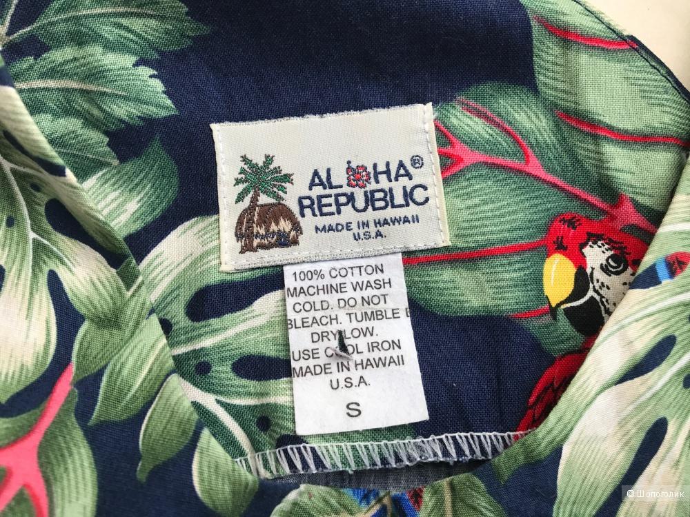 Настоящее гавайское платье размер S