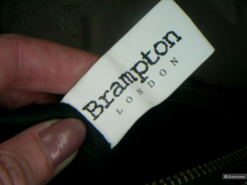 Сумка 100%-натуральная кожа от Brampton.