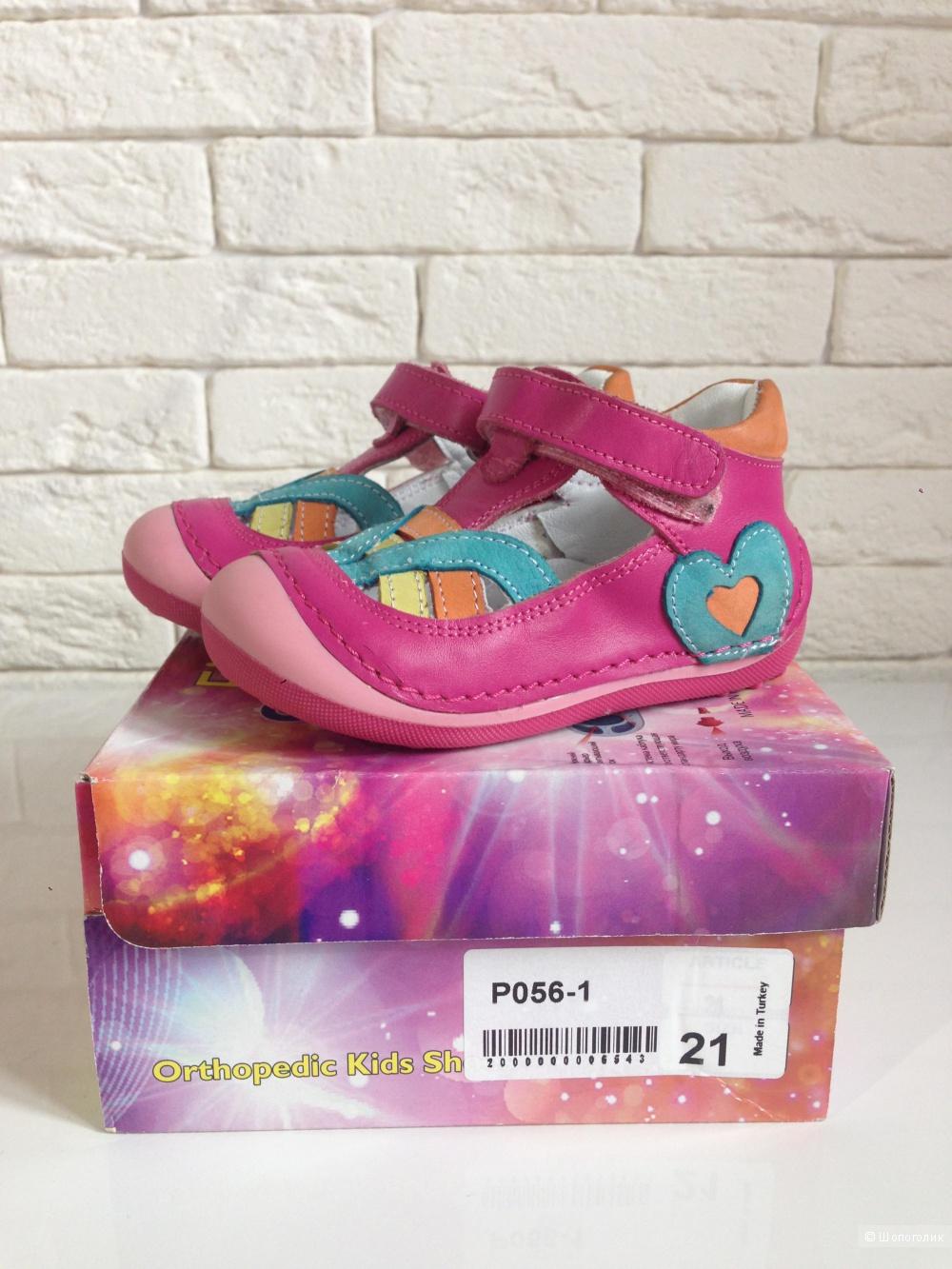 Ортопедические сандали для девочки 21р-р