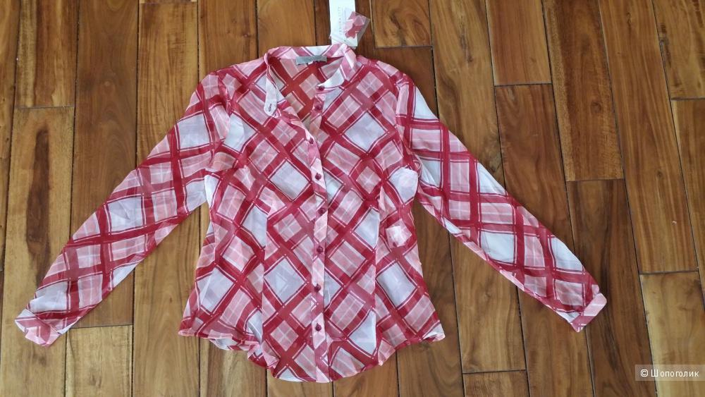 Lisa Romanyuk VEMINA , блузка 100% шелк, 44-46 размер