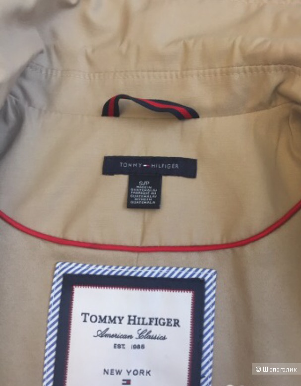 Плащ Tommy Hilfinger б/у размер S