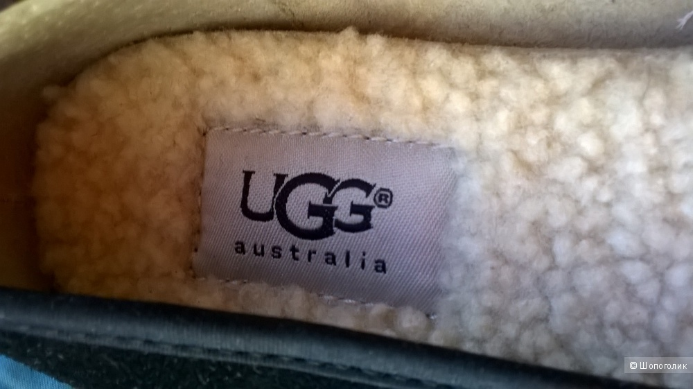 Новые балетки UGG замша 38-38.5 размер