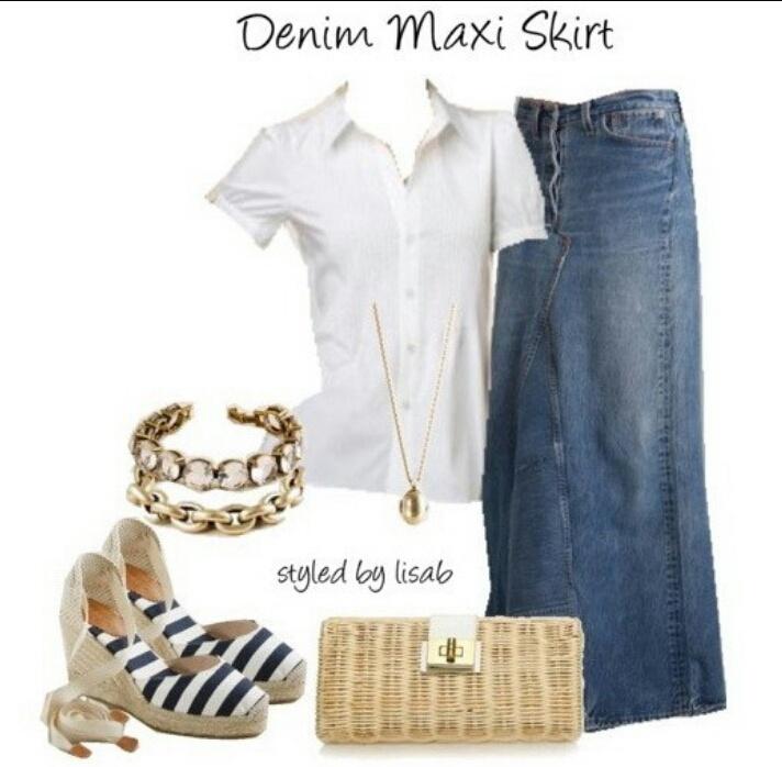 GAP: юбка-макси с клиновидным разрезом, 46-48