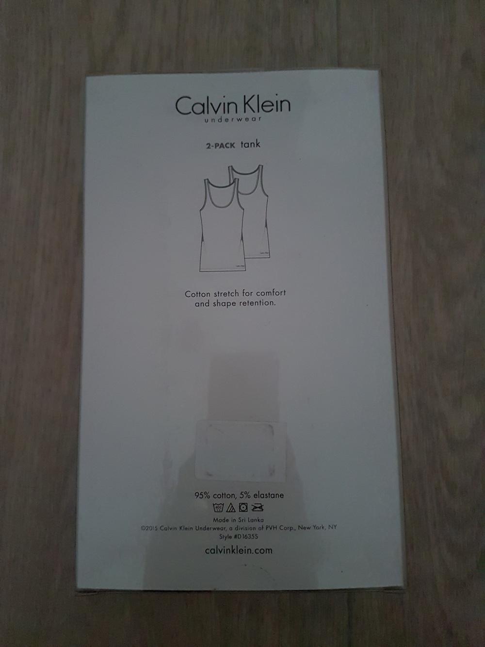 Calvin Klein набор маек из 2 шт., размер S-M