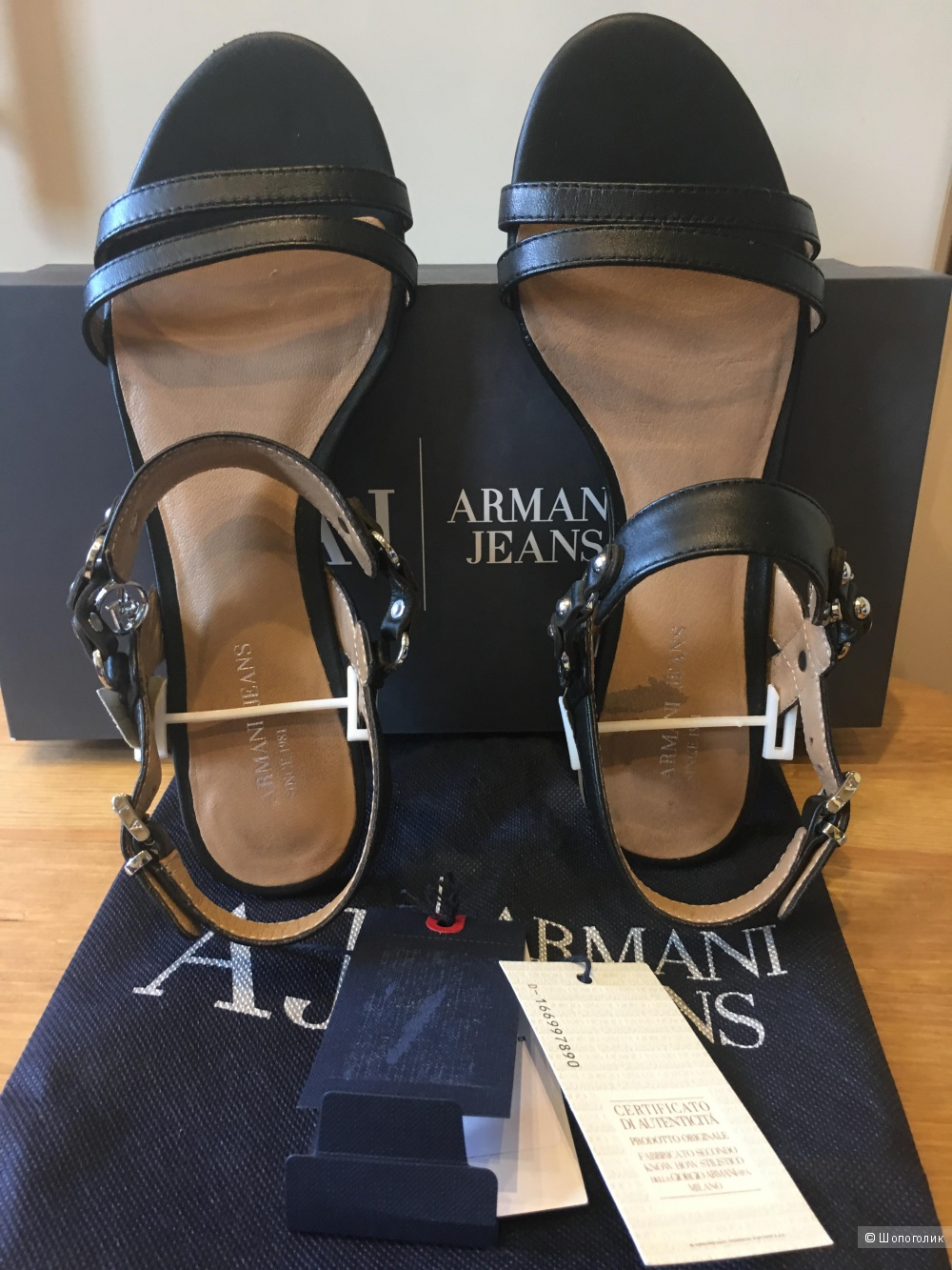 Сандалии Armani jeans36р.