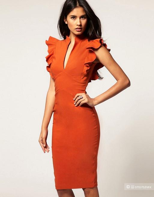Платье Hybrid цвет кэмел размер 12UK