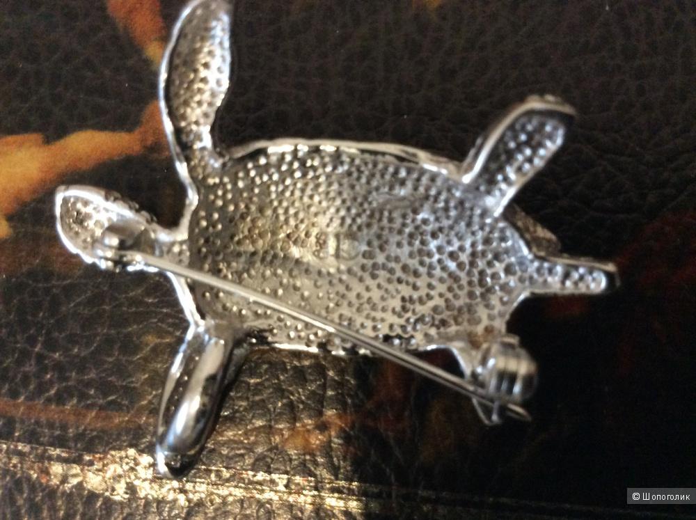 Брошь-кулон серебро с опалом
