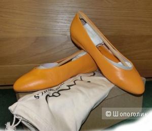 Туфли Nina Jive apricot 7 размер (Балетки).