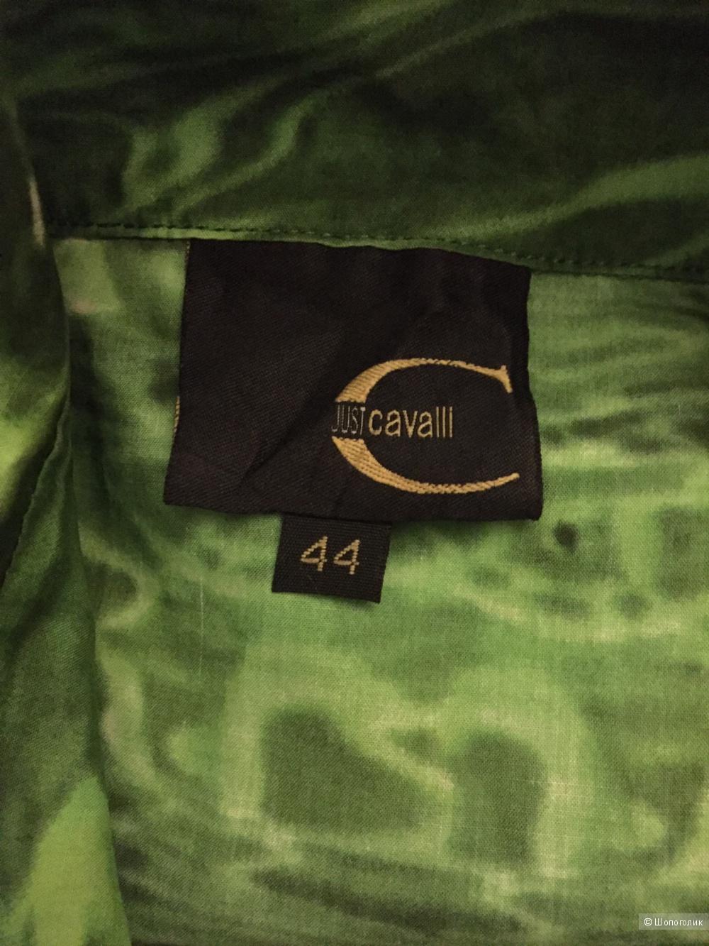 Хлопковая рубашка с длинным рукавом Just Cavalli 44it