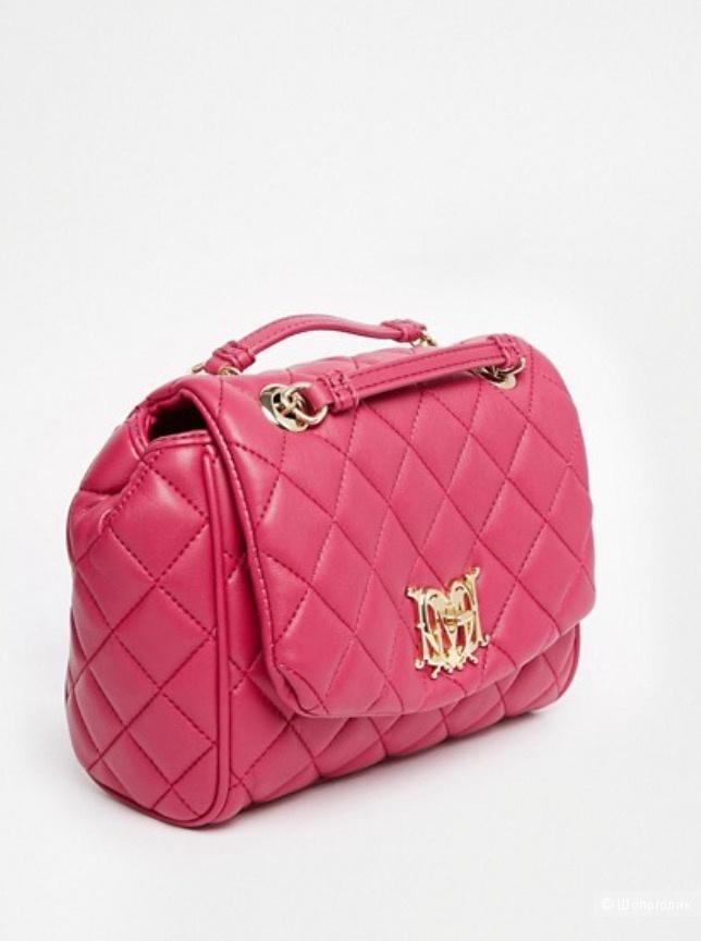 НОВАЯ сумка Love Moschino оттенок фуксия