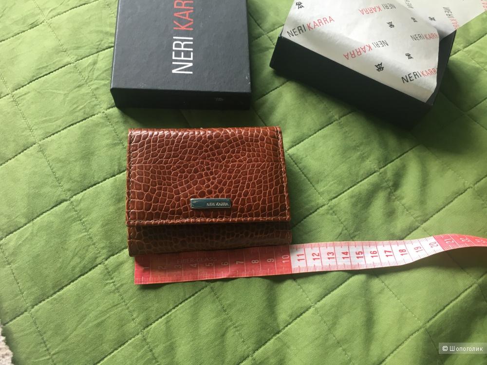 Кожаный кошелёк Neri Karra