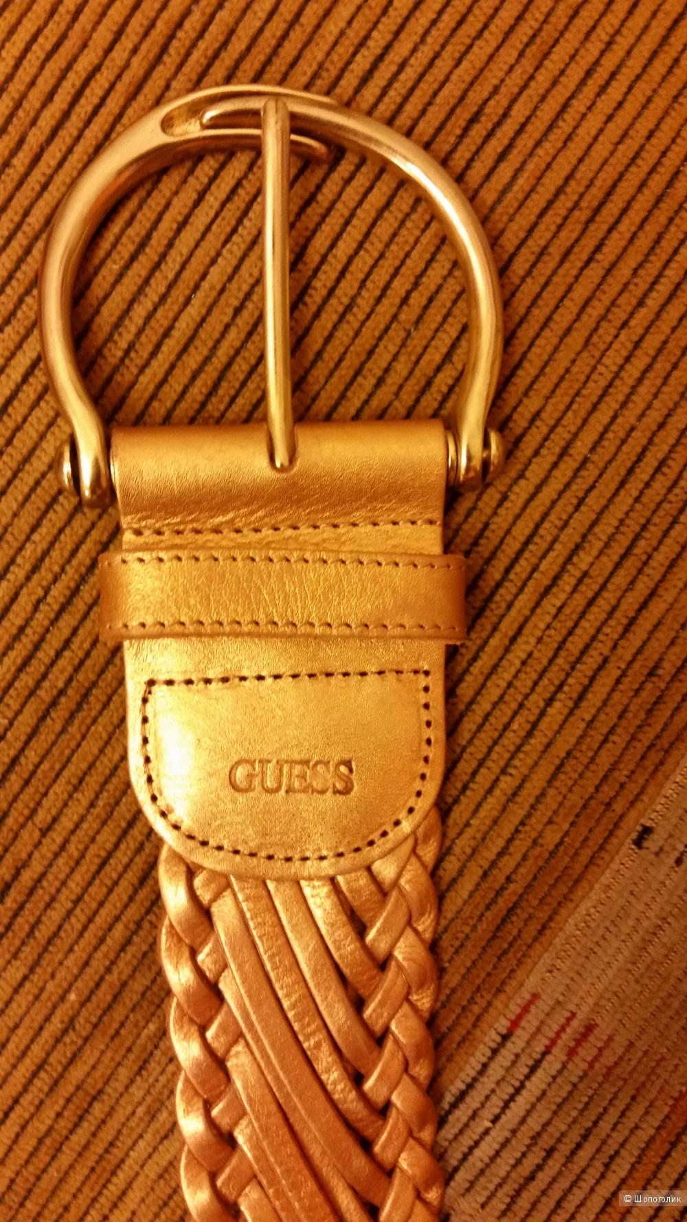 Новый кожаный ремень Guess, оригинал