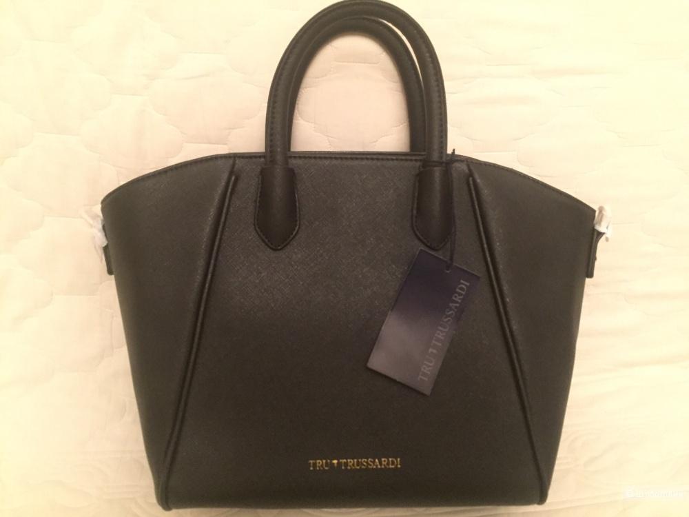 Tru Trussardi: сумка, кожа, оригинал