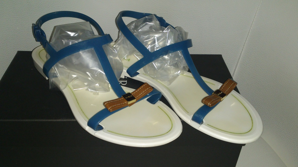 Босоножки = сандалии FURLA, размер 37, Италия