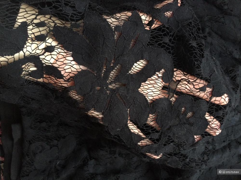 Черное кружевное платье BB Dakota 50-52 размер