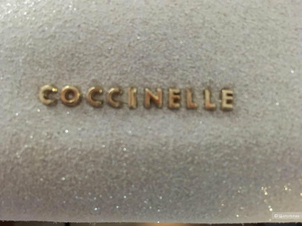 Сумочка COCCINELLE, новая с бирками, натуральная замша