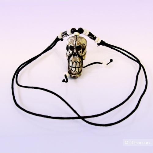 Подвеска череп из натуральной кости