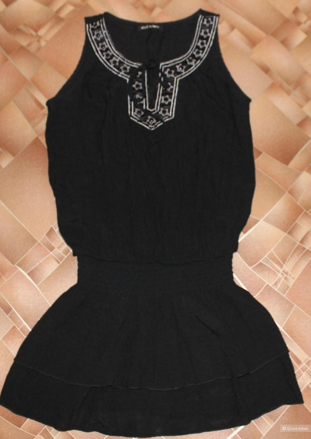Черный сарафан бренд  Marks & Spencer ,размер 42-44