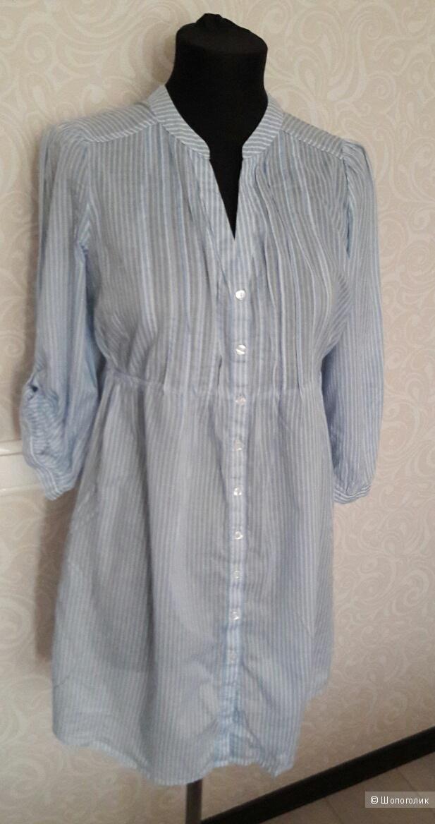 H&M:  платье-рубашка-туника, 40