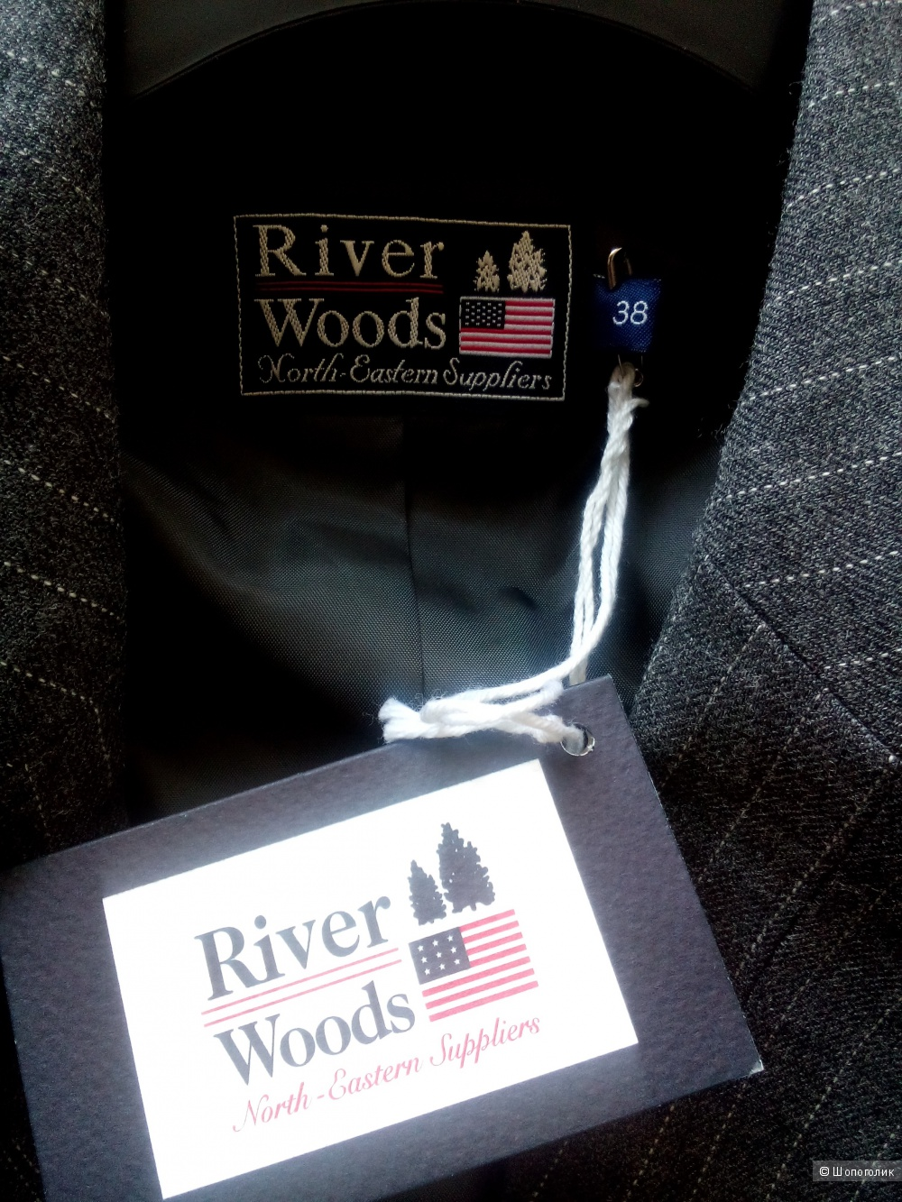 Пиджак люксовой Бельгийской марки River Woods размер 38