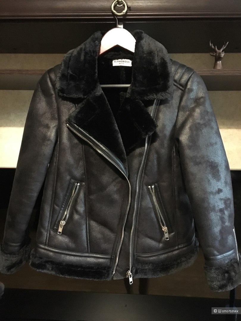 Модная куртка авиатор Glamorous Petite uk6