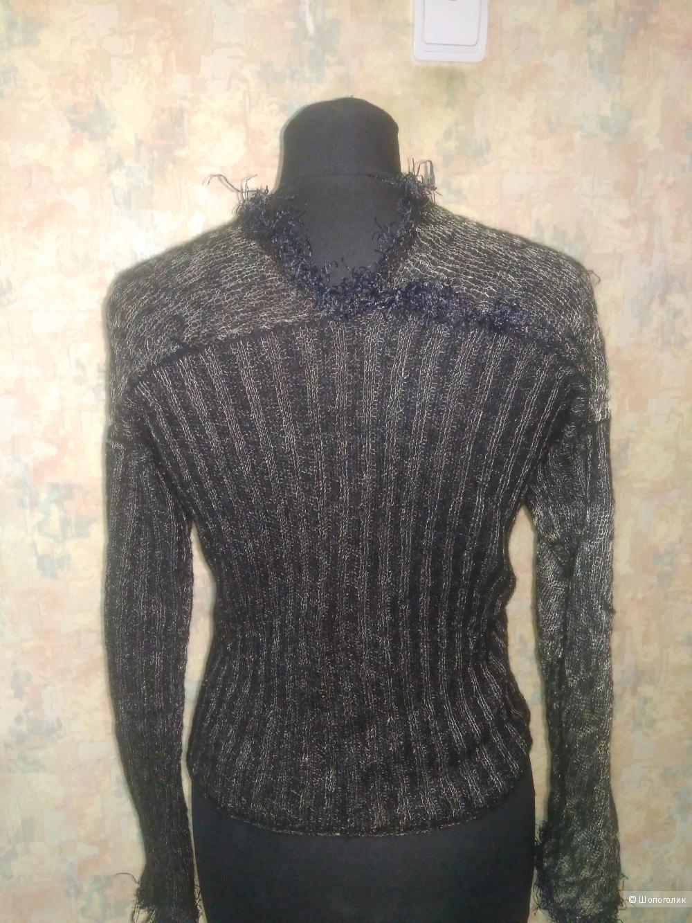 Дизайнерский двухсторонний свитерок р. 42-44