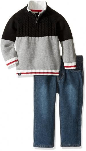 Calvin Klein комплект свитер + джинсы на мальчика, размеры 12 мес. и 24 мес. (1-2 года)