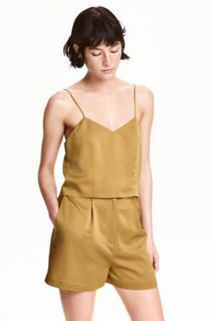 Шелковые шорты H&M Premium Quality размера  L