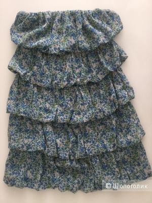 Летнее платье бандо Denny Rose, маркировка S