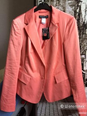 Пиджак жакет коралловый PATRIZIA DINI 46-48 размер