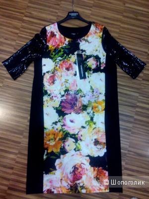 Платье вечернее от Donatella via Roma в размере L(48-50)