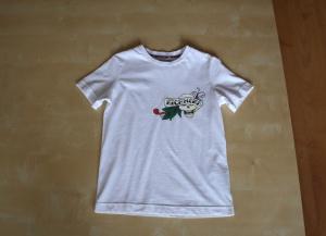 Детская футболка для мальчика 7 лет, John Richmond, оригинал