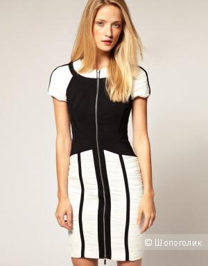 Черно-белое платье Karen Millen размер 46-48