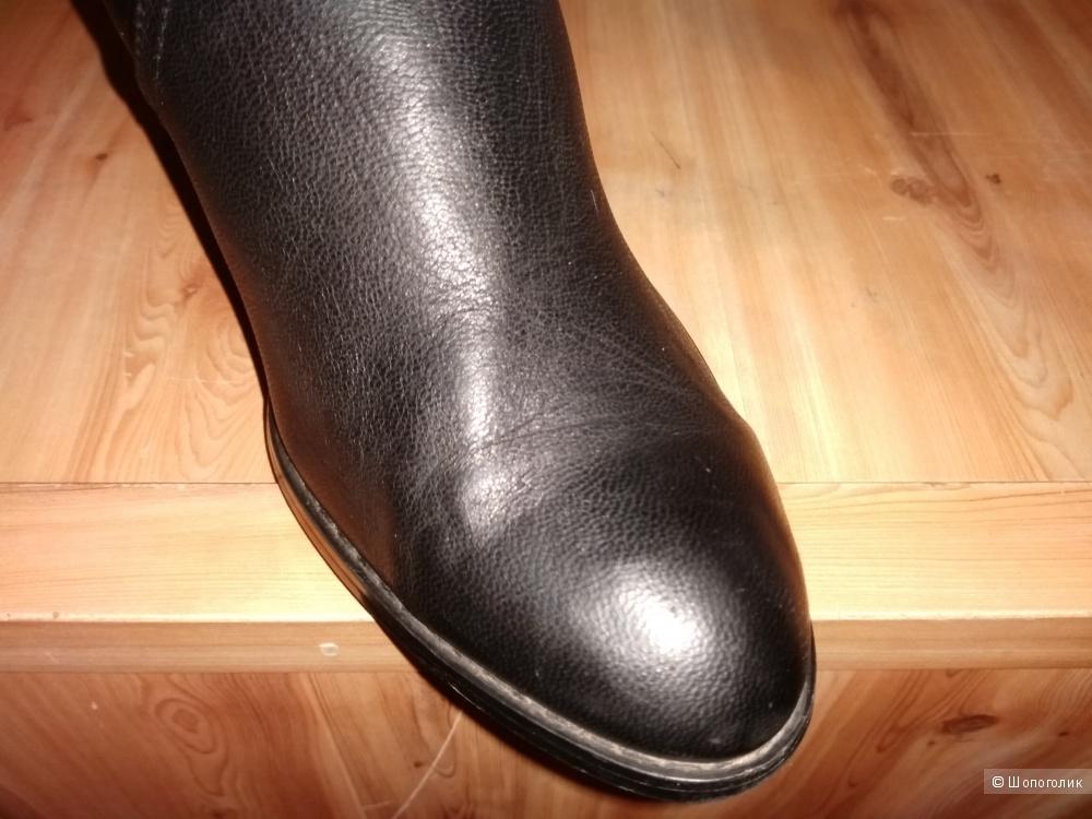 Сапожки  GERONEA из натуральной кожи 36 размера.