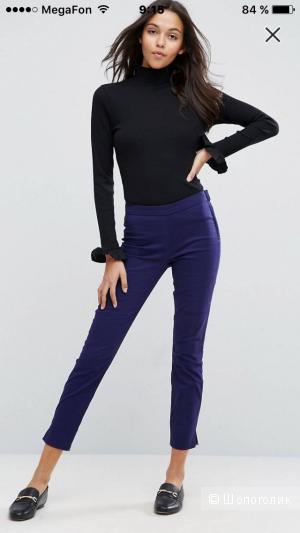 Зауженные брюки-сигареты в стиле casual ASOS (8uk-36eur)