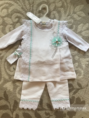Детский костюмчик для принцессы р.68,74(+6)