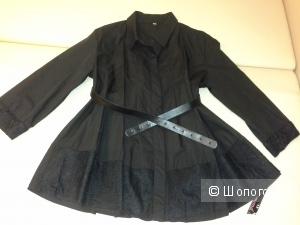 Стильная  рубашка-распашонка  Baby-doll, размер 40-44