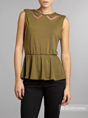 AX Paris Peplum Top UK12